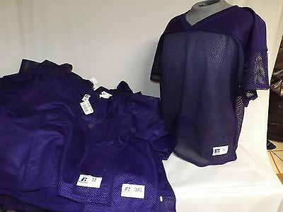 Lot of 38 Russell Athletic 10966MK Purple Practice Jersey Mens 3XL, XL, M