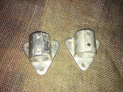 Speed Rail Fittings Wall Flange 1-1/2 - Fits 1-5/8 Pipe Lot of 2