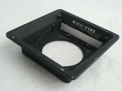 Toyo View - Linhof Recessed type lens board adapter for TOYO monorail camera