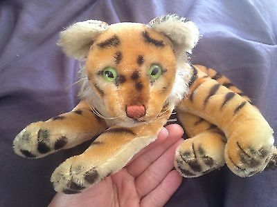 Vintage Steiff Bengal Tiger ALL Original Tags & Button - Collector's Ed 0112/17