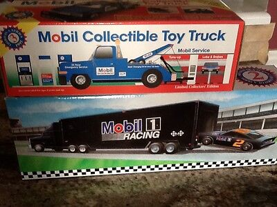 mobile  toy truck race car carrier 1995 1994 Lot