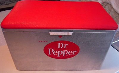 Dr. Pepper Padded Top Cooler By Kronstom Minty In Very Nice Condition