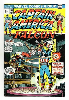 Captain America Vol 1 No 168 Dec 1973 (VFN-)Marvel,BronzeAge,1st App Helmut Zemo