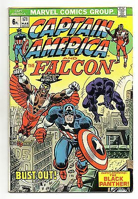 Captain America Vol 1 No 171 Mar 1974 (FN-) Marvel, Bronze Age (1970 - 1979)