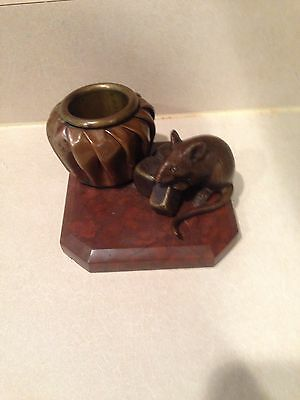 Antique French ?  Asian ? Bronze Rat or mouse