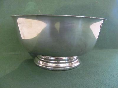 "Paul Revere Reproduction silver 925 sterling 7"" bowl Boardman"