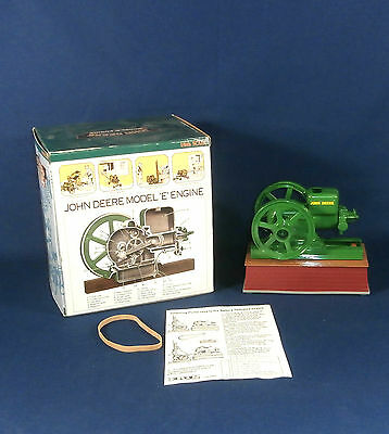 JOHN DEERE Diecast MODEL E ENGINE Battery Operated 1/6th Scale NEW OLD STOCK