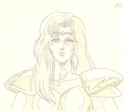 Anime Genga not Cel Fist of the North Star #11