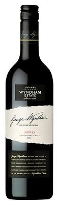 George Wyndham `Founders Reserve` Shiraz 2014 (6 x 750mL), Langhorne Creek.
