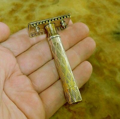 GILLETTE Rasierhobel 10284A Pat.Jan.13. 1920 New Improved DEKOSTÜCK razor RASOIR