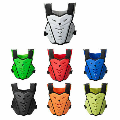 S-XXXL Motorcycle Biker Stunt Racing Armor Vest Guard Chest Protector Jacket