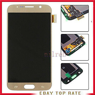 Display Lcd + Touch Screen Originale Samsung Galaxy S6 G920F Sm-G920F Gold Oro
