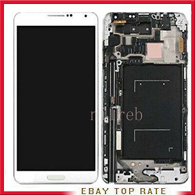 DISPLAY PER RETINA SAMSUNG GALAXY Note 3 N9005 BIANCO LCD + TOUCH SCREEN SCHERMO