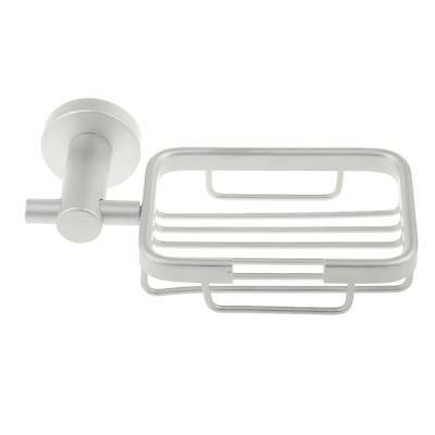 Aluminium Wall Mounted Bathroom Shower Bath Soap Dish Holder Tray Basket Box
