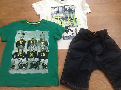 100%  Next Boys Summer Bundle Outfit 6Yrs Top Shorts    * I,ll Combine *