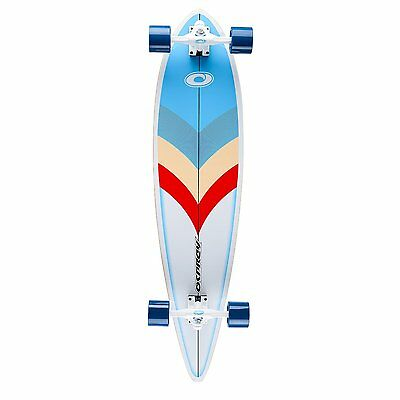 "Osprey 41"" Arrow Pintail Complete Longboard Cruiser Skateboard"