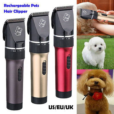 Animal Caring Electric Clipper Pet Dog Cat Hair Cut Trimmer Grooming Shaver 05C