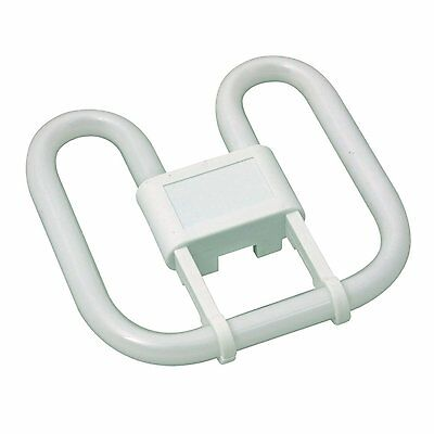 WC Office Bathroom Toilet Ceiling Bulb - 16w 28w 2D Square 2 or 4 Pin Cool White