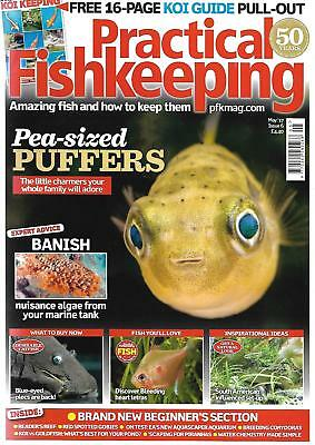 Practical Fishkeeping Magazine May 2017 Issue 6 Pea Puffa PFK Tropical Fish