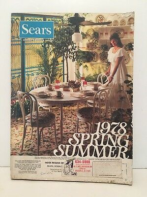 1978 SEARS Department Store Catalog - Spring Summer
