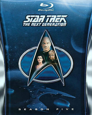 Star Trek: The Next Generation - Season 5 [Blu-ray] New DVD! Ships Fast!