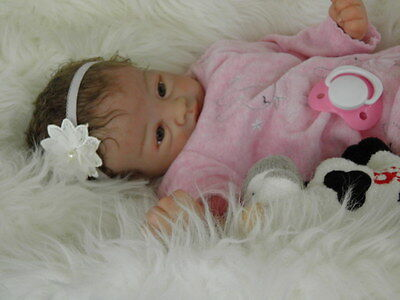 Lifelike Reborn Baby Girl Doll ''Juliet'' by Marissa May