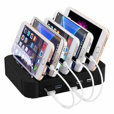 Multidock Dockingstation Sync Lade Dock Tischladestation für Smartphones Tablets