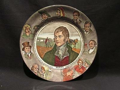 Robbie Burns Royal Doulton Vintage Hand Painted Collector Plate D3397F