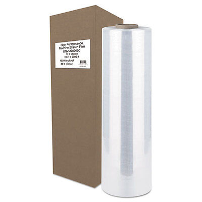 "Universal Office Products High-Performance Machine Stretch Film, 20"" x 9000"