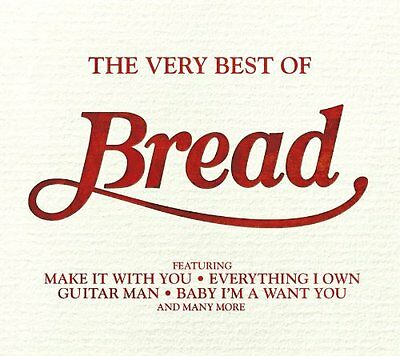 Bread ~ Very Best Of ~ NEW CD Album ~ 20 Tracks ~ Greatest Hits Collection