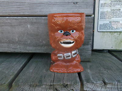 "USED STAR WARS ""CHEWBACCA"" 10oz. Collector Gobblet"