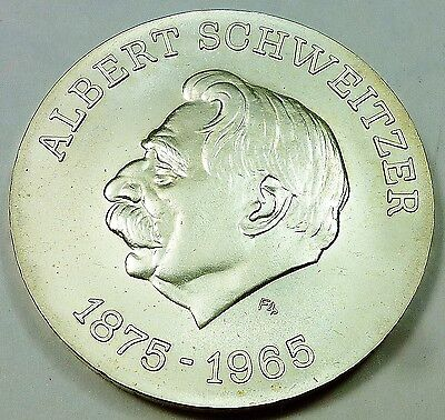 1975 East Germany / Democratic Republic 10 Mark Uncirculated - Albert Schweitzer
