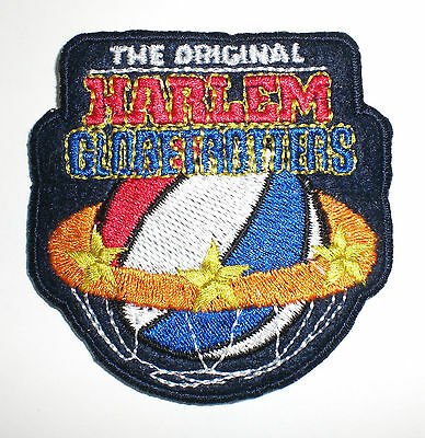 "The Original Harlem Globetrotters Patch  2-5/8"" X 2-5/8""  NEW  Iron On"