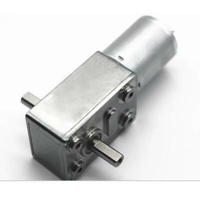 New 6V High Torque Turbo Worm Geared motor DC Motor JGY370 Metal Gear