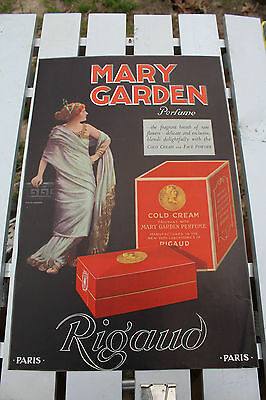 Vintage Mary Garden Perfume Ad Rigaud Towle's Log Cabin Syrup Buy W.S.S. Rare
