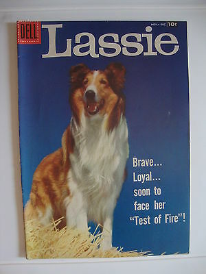 Lassie #37 VG/F Test Of Fire