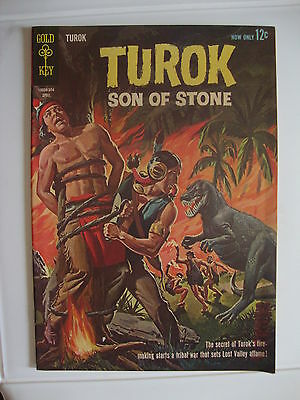 Turok #32 F/VF Secret Of Turok's Fire-Making