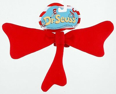 Dr. Seuss Cat in Hat Bow Tie Costume Accessory One Size