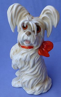Art Deco Skye Silky Terrier Briard Perfume Lamp Bosse Dog Goebel Germany