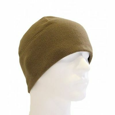 US Military 100 Polartec Fleece watch cap Outdoor Mütze USMC coyote Made in USA