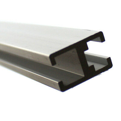 H Type Aluminium Channel Bar Track Aluminum Profile DIY Model 21x13.5x330mm