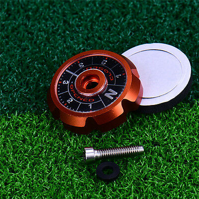 Alloy Adjustable Angle Sole Plate Face for TaylorMade R1 Golf Driver Orange 60g