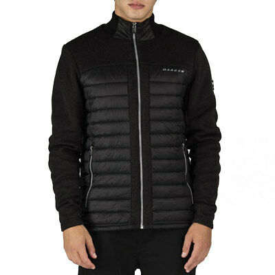 Dare2b 2016 Mens Shadow Side Insulated Thermal Sweater Jacket