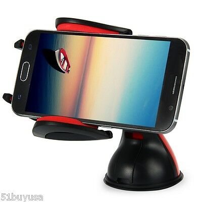 360 Degrees Universal Car Dashboard Mount Stand Windscreen Phone Holder Suction