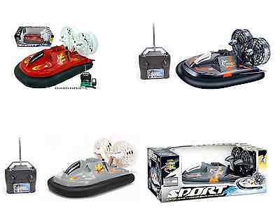 LARGE REMOTE RADIO CONTROL 32cm HOVERCRAFT SPEED BOAT & CHARGER FOR LAND & WATER