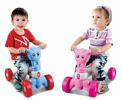 Childrens Toddlers Boys Girls My First Push Along Ride On Baby Bike Walker Toy