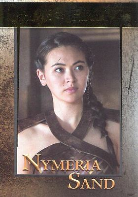 Game Of Thrones Season 6 Gold Base Card #80 Nymeria Sand