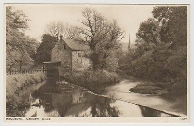 Wales postcard - Monmouth, Monnow Mill