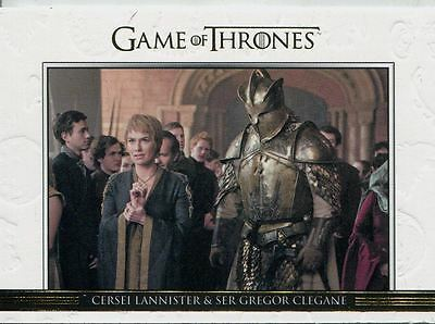 Game Of Thrones Season 6 Gold Relationships Chase Card DL40 Cersei Lannister &