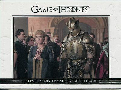 Game Of Thrones Season 6 Relationships Chase Card DL40 Cersei Lannister & Ser